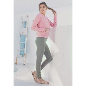Synergy Organic Cotton Gray Yoga Hot Pants Legging